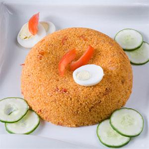 Gari Fotor with Chicken Kebab